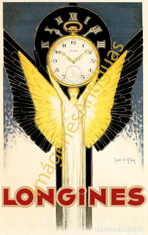 LONGINES - CARTELES - IMAGENES - PUBLICIDAD - RELOJERIA - RELOJES (Coleccionismo - Carteles Pequeño Formato)