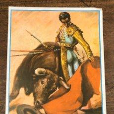 Coleccionismo de carteles: CARTEL PLAZA DE TOROS VISTA ALEGRE. BILBAO. XXXVI FESTIVAL DEL CLUB TAURINO. 4 DE JULIO DE 1969. Lote 245582090