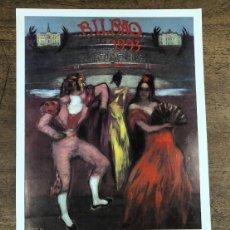 Coleccionismo de carteles: CARTEL PLAZA DE TOROS VISTA ALEGRE. BILBAO. AGOSTO 1993. Lote 245583245