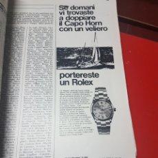 Coleccionismo de carteles: ANTIGUO ANUNCIO ROLEX REVISTA ITALIANA. Lote 245898720