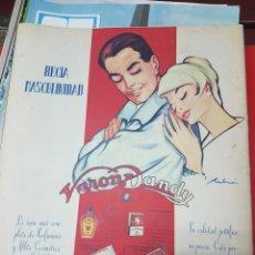Coleccionismo de carteles: ANUNCIO VARON DANDY 1960. Lote 245901865