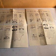 Coleccionismo de carteles: AUCA DEL PERE I L'ANNA. Lote 247958875