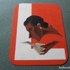 Coleccionismo de carteles: MAGNIFICO ANTIGUO DIBUJO ART DECO,MAQUETA PARA ETIQUETA DE PERFUME. Lote 248104405