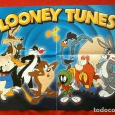 Coleccionismo de carteles: LOONEY TUNES (2008) POSTER PRESENTACION COLECCION DVDS LO MEJOR DE LOS LOONEY TUNES WARNER BROS. Lote 248296265