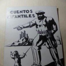 Coleccionismo de carteles: ANTIGUO ANTIGUO CARTEL MAQUETA DIBUJO ORIGINAL,CUENTOS INFANTILES. Lote 248602165