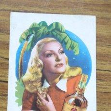 Coleccionismo de carteles: 1950 PROPAGANDA DE CARTON - LICOR CREMA CACAO. Lote 249124380