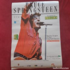 Collectionnisme d'affiches: BRUCE SPRINGSTEEN - CARTEL ORIGINAL CONCIERTO BARCELONA 1988.. Lote 251178880