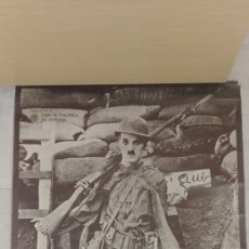 Coleccionismo de carteles: POSTER CHARLES CHAPLIN MILITAR. Lote 251807445