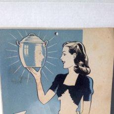 Coleccionismo de carteles: CARTEL DE CARTÓN DE TRISIDOL.. Lote 252255645