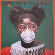 Coleccionismo de carteles: PÓSTER DE DAMIEN CIFELLI - LET THE PLANET BREATHE - IMPRESIÓN DE GRAN CALIDAD - 31X41,5 CM. Lote 255356610
