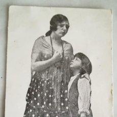 Collezionismo di affissi: PROGRAMA TARJETA PELICULA AMAPOLA CINE MUDO 1926 ZAIDA NERINA Y PITUSIN. Lote 255439410