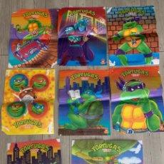 Coleccionismo de carteles: LOTE PÓSTER TORTUGAS NINJA MATUTANO. Lote 255505175