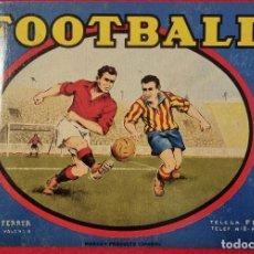 Coleccionismo de carteles: CARTEL ITO ETIQUETA NARANJAS FUTBOL FOOTBALL PEQUEÑA NORBERTO FERRER CARCAGENTE VALENCIA ORIGINAL K2. Lote 255511930