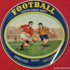 Coleccionismo de carteles: CARTEL ITO ETIQUETA NARANJAS FUTBOL FOOTBALL REDONDA NORBERTO FERRER CARCAGENTE VALENCIA ORIGINAL K2. Lote 255512085