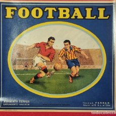 Coleccionismo de carteles: CARTEL ITO ETIQUETA NARANJAS FUTBOL FOOTBALL GRANDE NORBERTO FERRER CARCAGENTE VALENCIA ORIGINAL K2. Lote 255512290