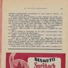 Coleccionismo de carteles: PUBLICIDAD FARMACÉUTICA: BISMUTO SURIÑACH - BARCELONA (AÑOS 50). Lote 35108353