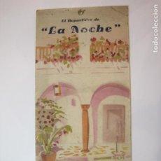 Coleccionismo de carteles: EL REPARTIDOR DE LA NOCHE-FELICITACION NAVIDAD-CARTEL ANTIGUO-VER FOTOS-(V-22.688). Lote 257282685