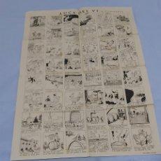 Collectionnisme d'affiches: AUCA DEL VI. V CASTANYS. Lote 260422710