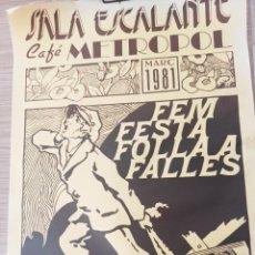 Coleccionismo de carteles: CARTEL DE TEATRO. Lote 262896020