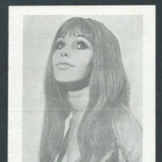 Coleccionismo de carteles: HOJA FOLLETO PUBLICIDAD FESTIVAL SEXY AÑO 1975 VEDETTE AUSTRIACA ELKE MON AMOUR. Lote 27341693