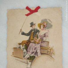 Coleccionismo de carteles: CARTEL ANTIGUO JOSE DIAZ SASTRERIA JEREZ LARGA 1. Lote 263135295