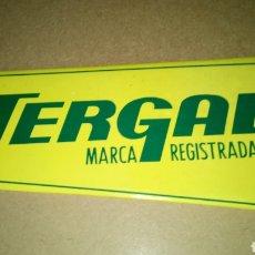 Coleccionismo de carteles: CARTEL DE CARTÓN DE TERGAL.. Lote 269594278
