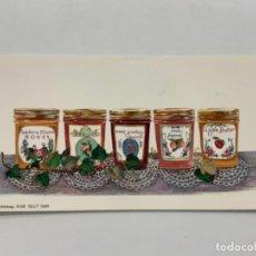 Coleccionismo de carteles: BONITA LAMINA BOTES MERMELADA IDEAL PARA DECORAR Y MARCO SOBREMESA 22X11. Lote 269813673