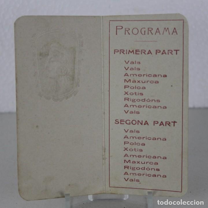 Coleccionismo de carteles: Programa de Festa Major 1907 Centre Lírich-Dramátich Magnifich Envelat. Modernista - Foto 2 - 271034878