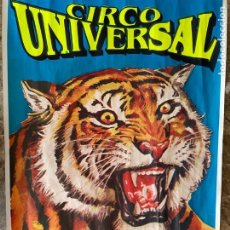 Collectionnisme d'affiches: CARTEL - POSTER (CIRCO UNIVERSAL). Lote 275532583