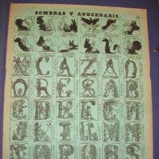 Colecionismo de cartazes: ALELUYA AUCA - SOMBRAS Y ABECEDARIO Nº 35 BOSCH. Lote 276025073
