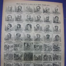 Colecionismo de cartazes: ALELUYA AUCA - HISTORIA IMPARCIAL DE LA GUERRA CIVIL DE ESPAÑA 2ª PARTE CARLISMO Nº 102 BOSCH. Lote 276266083