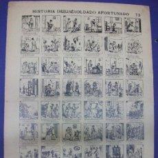Colecionismo de cartazes: ALELUYA AUCA - HISTORIA DE UN SOLDADO AFORTUNADO MILITAR Nº 73 BOSCH - COLECCION DE TERSOL. Lote 276266373