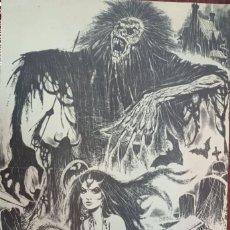 Coleccionismo de carteles: CARTEL POSTER CREEPY DE RAFAEL AURALEON. Lote 276266703