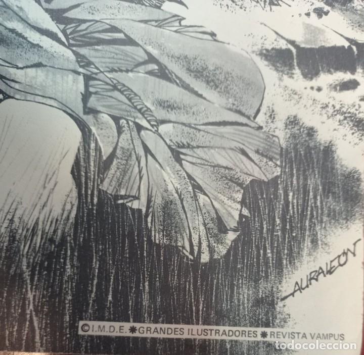 Coleccionismo de carteles: CARTEL POSTER CREEPY DE RAFAEL AURALEON - Foto 2 - 276266703