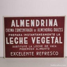 Colecionismo de cartazes: CARTEL PUBLICITARIO - ALMENDRINA - LECHE VEGETAL - PUBLICIDAD AÑOS 50 - PUBLICIDAD ANTIGUA. Lote 278559593