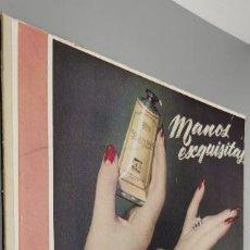 Coleccionismo de carteles: ANTIGUO CARTEL DE CARTON PUBLICITARIO MYRURGIA AÑO 50-60 30X35CM. Lote 287735918