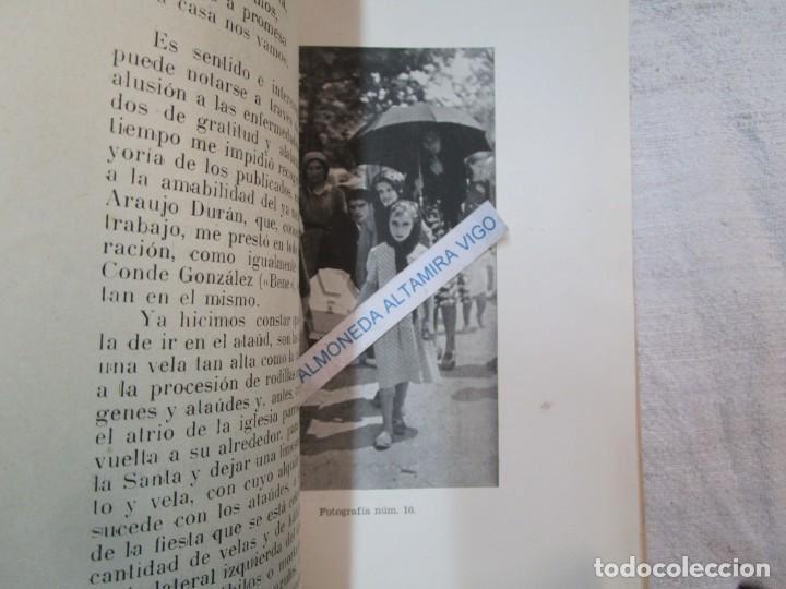 Coleccionismo de carteles: GALICIA PROCESIONES ATAUDES - SANTA MARTA DE RIBARTEME - VICTOR LIS QUIBEN - FARO VIGO 1961+INFO - Foto 9 - 287753473