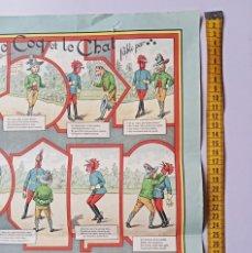 Coleccionismo de carteles: LE COQ ET LE CHAL . CARTEL. Lote 288987488