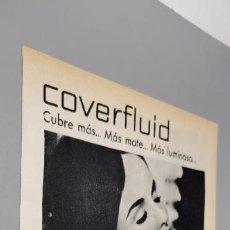 Coleccionismo de carteles: ANUNCIO 1960 COVERFLUID HELENA RUBINSTEIN. Lote 289479968