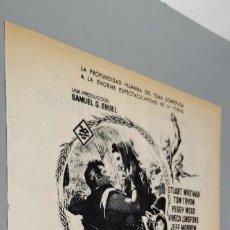 Coleccionismo de carteles: RECORTE PUBLICIDAD AÑOS 60 - CINE - PELICULA LA HISTORIA DE RUTH. Lote 289488718