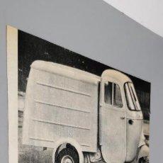 Coleccionismo de carteles: LA IMPORTANCIA DEL 《CAR》 EN EL SECTOR DEL TRANSPORTE LIGERO. 1960+PUBLICIDAD BIC. Lote 289489023
