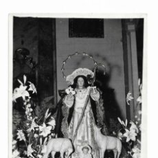 Coleccionismo de carteles: CARTEL ANTIGUA- DIVINA PASTORA- 22 DE OCTUBRE DE 1967 MIDE 12 X 18 CM. Lote 289722953