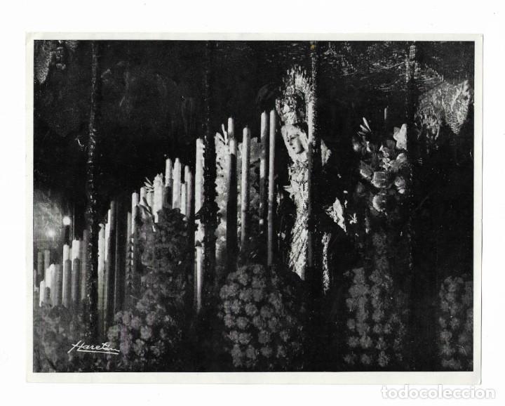 CARTEL ANTIGUA- ESPERANZA MACARENA- DOMINGO 18 DE DICIEMBRE DE 1966 - MIDE 22 X 17 CM (Coleccionismo - Carteles Pequeño Formato)