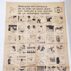 Coleccionismo de carteles: AUCA HISTÒRICA I RODONA DEL FÚTBOL CLUB BARCELONA. CENTENARI DEL NAIXEMENT DE JOAN AMADES. 1990.. Lote 291990883