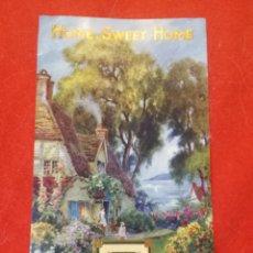 Coleccionismo de carteles: PORTADA CALENDARIO INGLES, AÑOS VEINTR. Lote 293454258