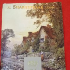 Coleccionismo de carteles: PORTADA CALENDARIO SHAKESPEARE CALENDAR AÑO 1925. Lote 293456973