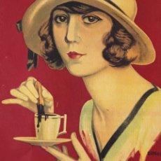 Collezionismo di affissi: CARTEL CHOCOLATES RIUCORD, CARTÓN. MIDE 40 X 28 CM.. Lote 295503463