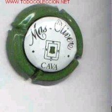 Coleccionismo de cava: CHAPA CAVA MAS OLIVE VERDE. Lote 75932