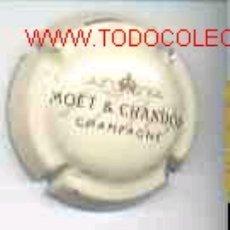 Coleccionismo de cava: CHAPA CHAMPAGNE MOET-CHANDON. Lote 76098