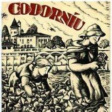 Coleccionismo de cava: CATALOGO DE CAVA CODORNIU. Lote 10658620